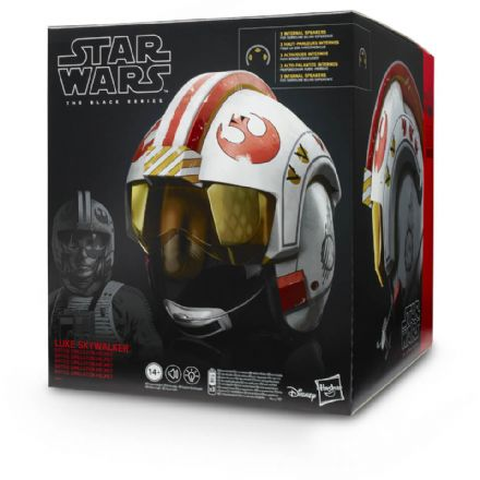 Hasbro Black Series Star Wars Luke Skywalker Battle Simulation Helmet